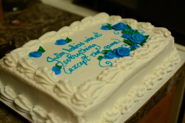 Day 145 - Cake